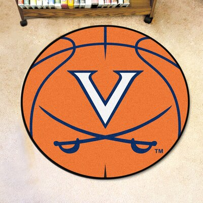 NCAA University of Virginia Basketball Mat