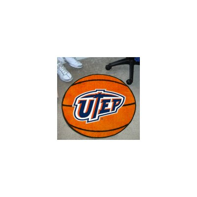 NCAA UTEP Basketball Mat