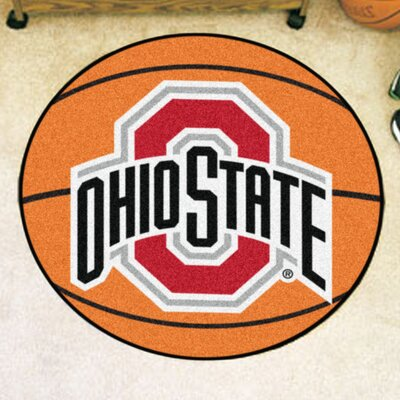 NCAA Ohio State University Basketball Mat