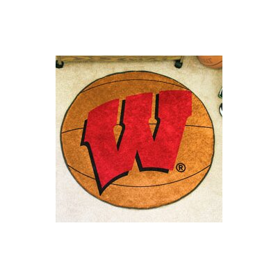 NCAA University of Wisconsin Basketball Mat