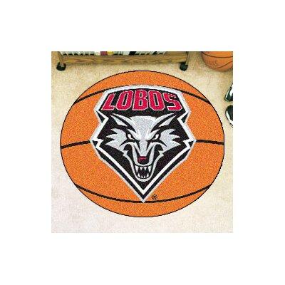 NCAA University of New Mexico Basketball Mat
