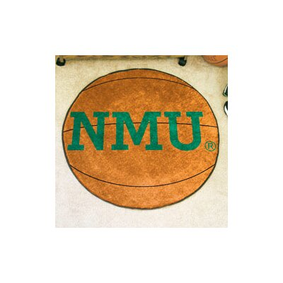 NCAA Northern Michigan University Basketball Mat