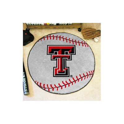 NCAA Texas Tech University Baseball Mat