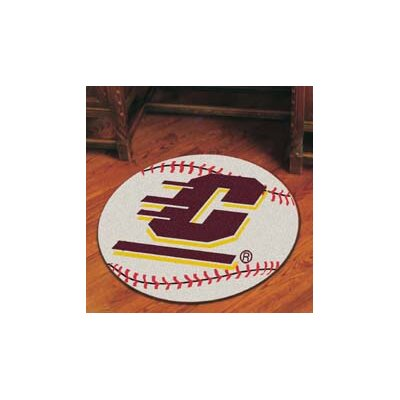 NCAA Central Michigan University Baseball Mat