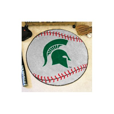 NCAA Michigan State University Baseball Mat