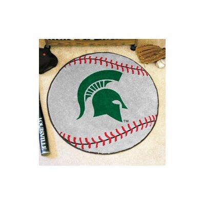 NCAA Michigan State University Baseball Mat