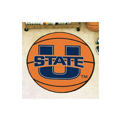 NCAA Utah State University Basketball Mat