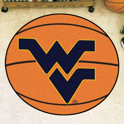 NCAA West Virginia University Basketball Mat