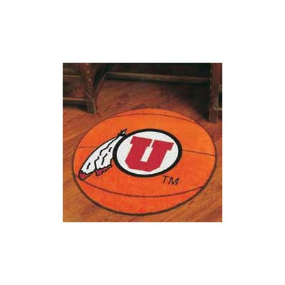 NCAA University of Utah Basketball Mat