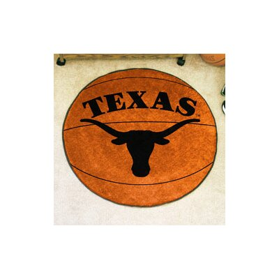NCAA University of Texas Basketball Mat