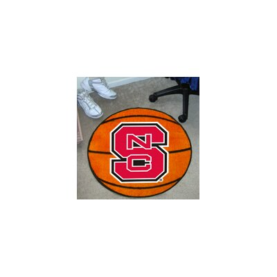 NCAA North Carolina State University Basketball Mat