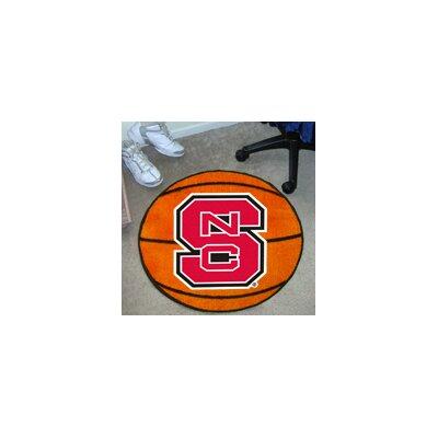 NCAA North Carolina State University Basketball Mat