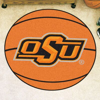 NCAA Oklahoma State University Basketball Mat