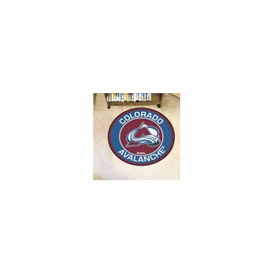 NHL Colorado Avalanche Roundel Mat