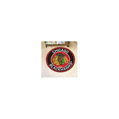 NHL Chicago Blackhawks Roundel Mat