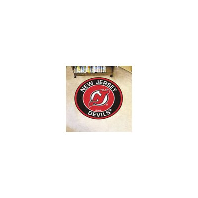 NHL New Jersey Devils Roundel Mat