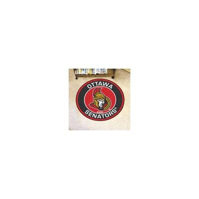 NHL Ottawa Senators Roundel Mat