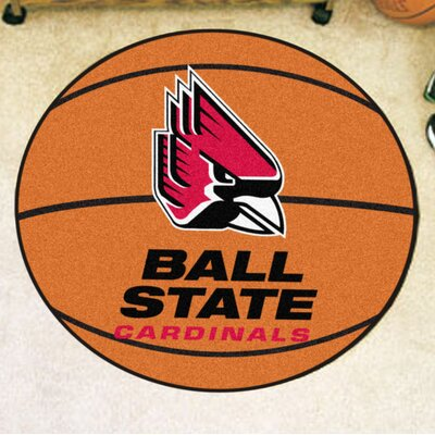 NCAA Ball State University Basketball Mat