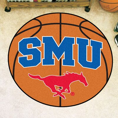 NCAA Southern Methodist University Basketball Mat