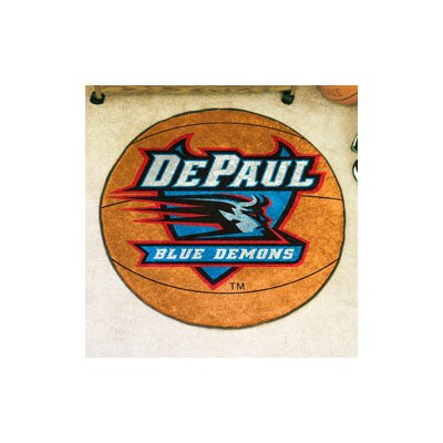 NCAA DePaul University Basketball Mat