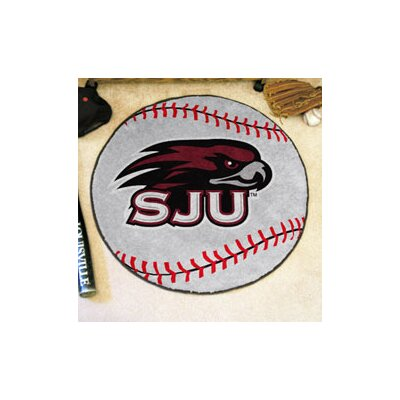 NCAA St. Josephs University Baseball Mat