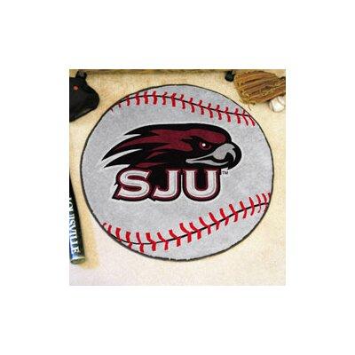 NCAA St. Josephs University Baseball Mat