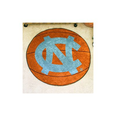 NCAA University of North Carolina - Chapel Hill Basketball Mat