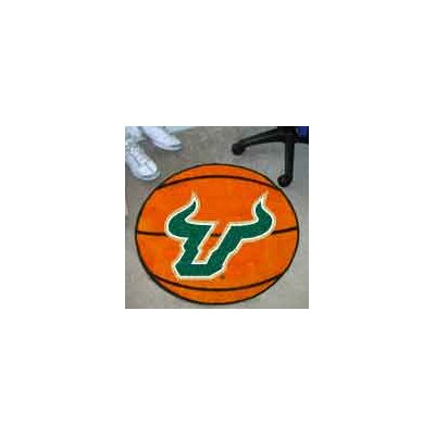 NCAA University of South Florida Basketball Mat