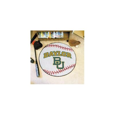 NCAA Baylor University Baseball Mat