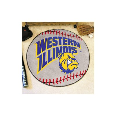 NCAA Western Illinois University Baseball Mat