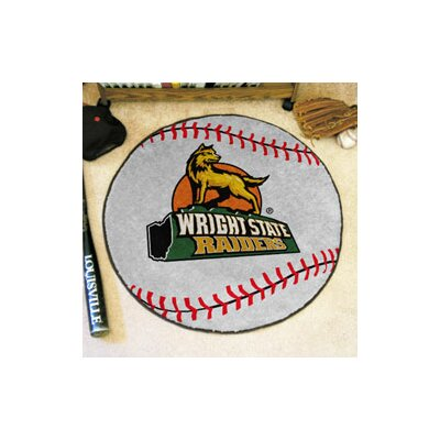 NCAA Wright State University Baseball Mat