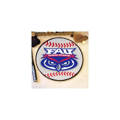 NCAA Florida Atlantic University Baseball Mat