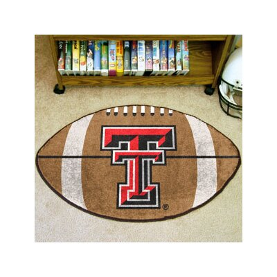 NCAA Texas Tech University Football Doormat