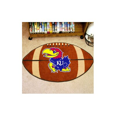 NCAA University of Kansas Football Doormat