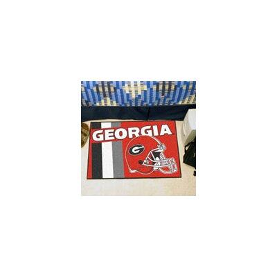 NCAA University of Georgia Starter Doormat