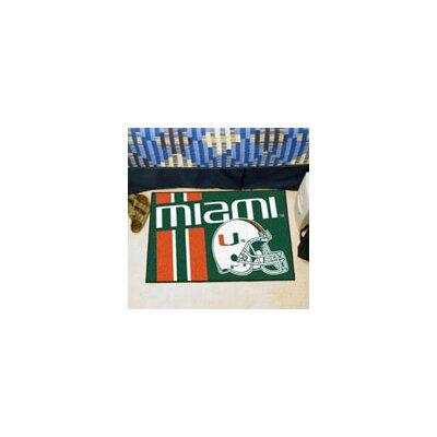 NCAA University of Miami Starter Doormat