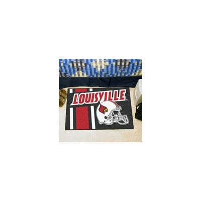 NCAA University of Louisville Starter Doormat