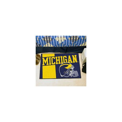 NCAA University of Michigan Starter Mat