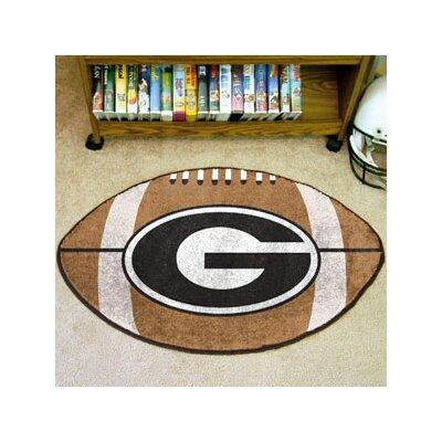 NCAA University of Georgia Football Mat