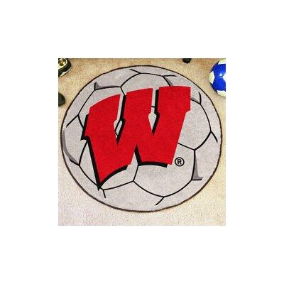 NCAA University of Wisconsin Soccer Ball