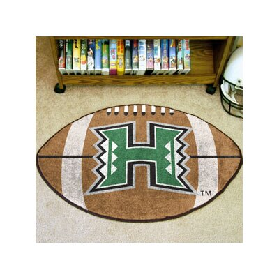 NCAA University of Hawaii Football Mat