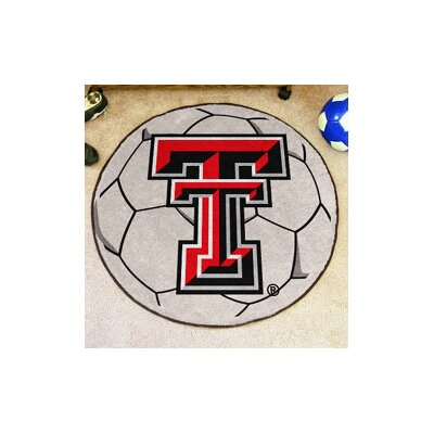 NCAA Texas Tech University Soccer Ball