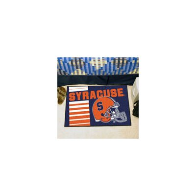 NCAA Syracuse University Starter Doormat