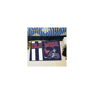 NCAA University of Mississippi (Ole Miss) Starter Mat