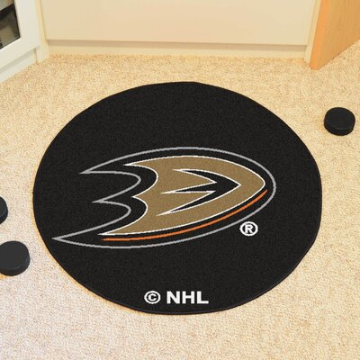 NHL Anaheim Ducks Puck Mat