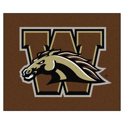 NCAA Western Michigan University Indoor/Outdoor Area Rug