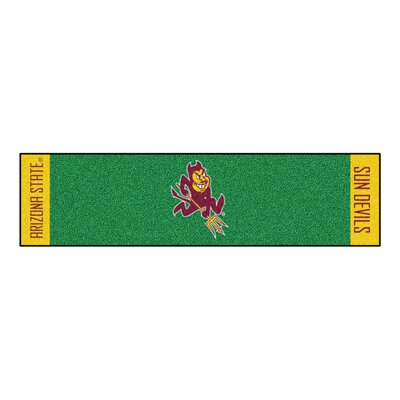 Collegiate NCAA Syracuse University Putting Green Doormat NCAA Team: Arizona State
