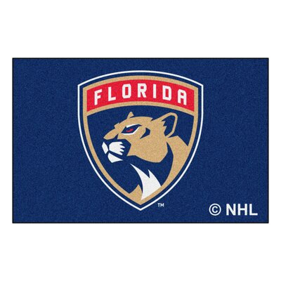 NHL - Florida Panthers Doormat Rug Size: 5 x 8