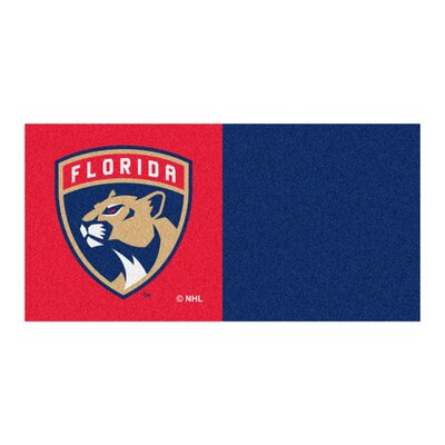 NHL - Chicago Blackhawks Team Carpet Tiles NHL Team: Florida Panthers
