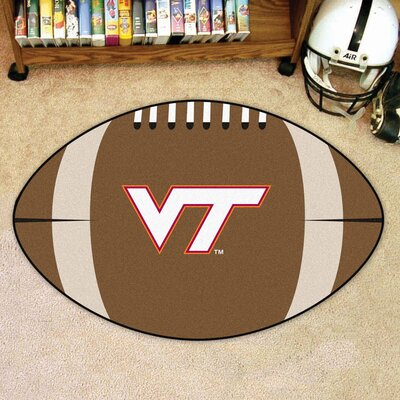 NCAA Virginia Tech Football Mat